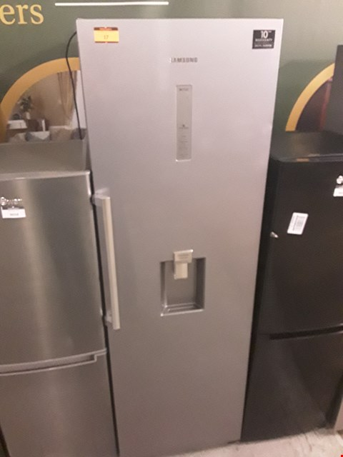 Lot 17 SAMSUNG SILVER TALL LARDER FRIDGE WITH WATER DISPENSER RR39M7340SA RRP £749.00