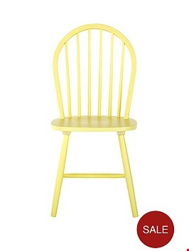 Lot 3125 GRADE 1 DAISY CHAIR YELLOW