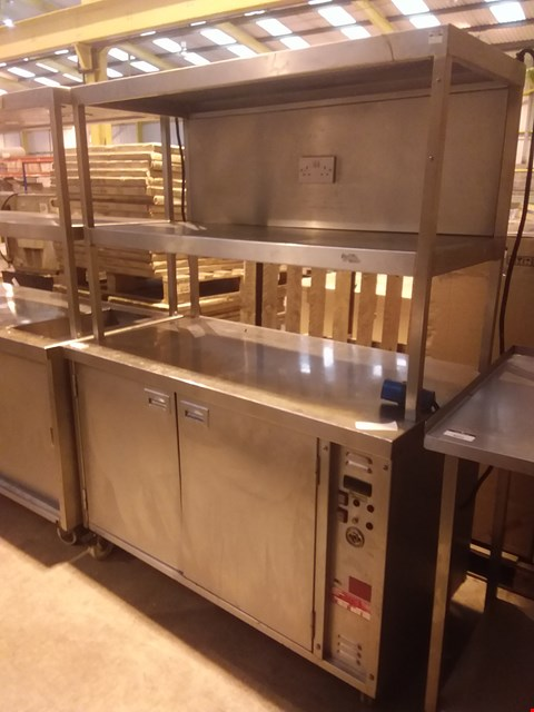Lot 4030 STAINLESS STEEL HEATER GANTRY UNIT WITH POWER