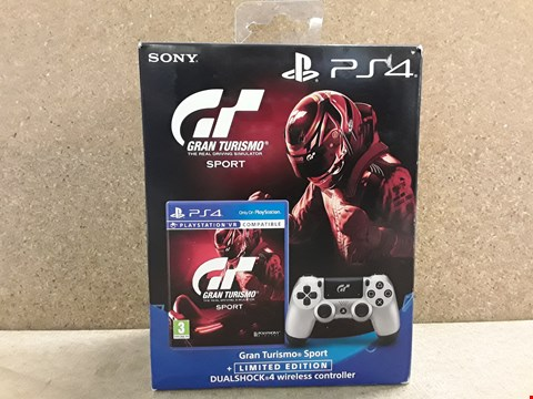 Lot 702 BRAND NEW BOXED GRAN TURISMO SPORT WITH LIMITED EDITION DUALSHOCK WIRELESS CONTROLLER