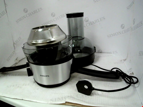 Lot 11002 PHILIPS VIVA COLLECTION JUICER 700W