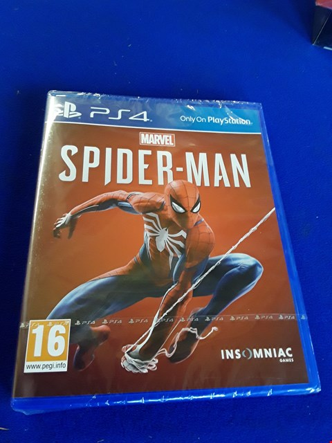 Lot 7620 MARVEL SPIDERMAN PLAYSTATION 4 GAME