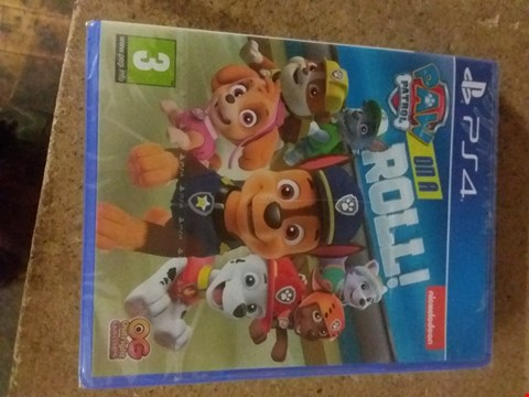 Lot 2563 PAW PATROL ON A ROLL FOR PS4