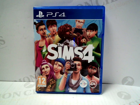 Lot 5720 THE SIMS 4 PLAYSTATION 4 GAME