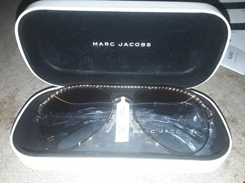 Lot 9202 BRAND NEW MARC JACOBS GOLD TWISTED BROW BAR SUNGLASSES  RRP £220.00