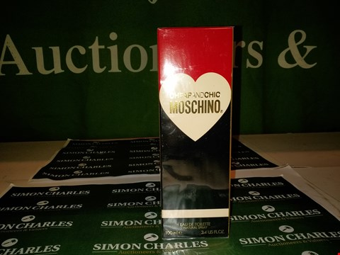 Lot 132 CHEAP AND CHIC MOSCHINO EDT 100ML