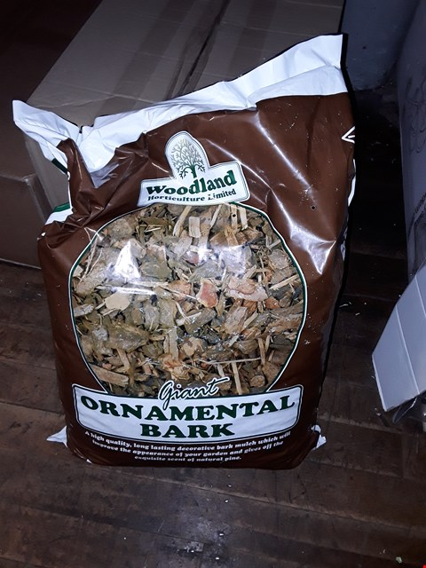 Lot 1564 GIANT BAG OF ORNAMENTAL BARK  RRP £25