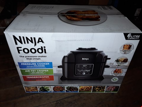 Lot 8078 BOXED NINJA FOODI 1400W PRESSURE COOKER