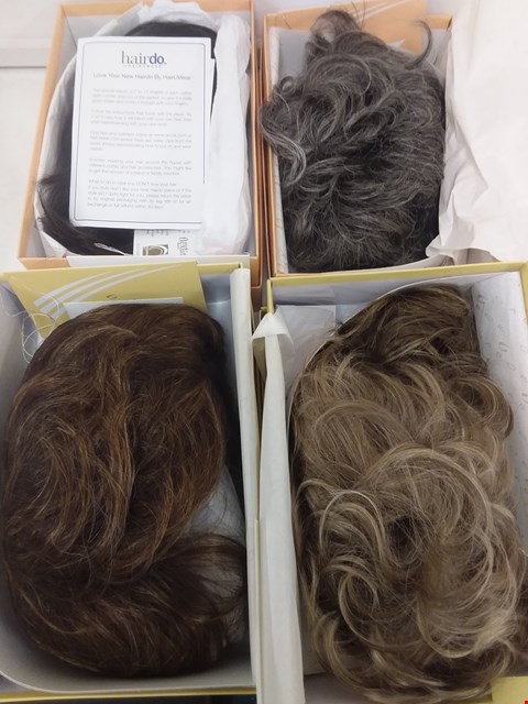 Lot 585 LOT OF 4 ASSORTED WIGS