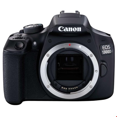 Lot 66 CANON EOS 1300D SLR CAMERA BODY RRP £331