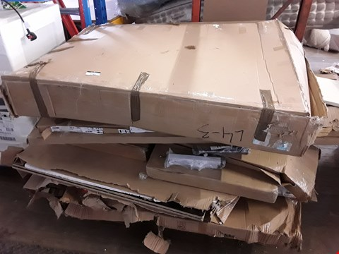 Lot 2185 PALLET OF ASSORTED FLAT PACK FURNITURE PARTS