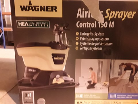 Lot 6747 WAGNER 2394313 AIRLESS CONTROL 150 M PAINT SPRAYER