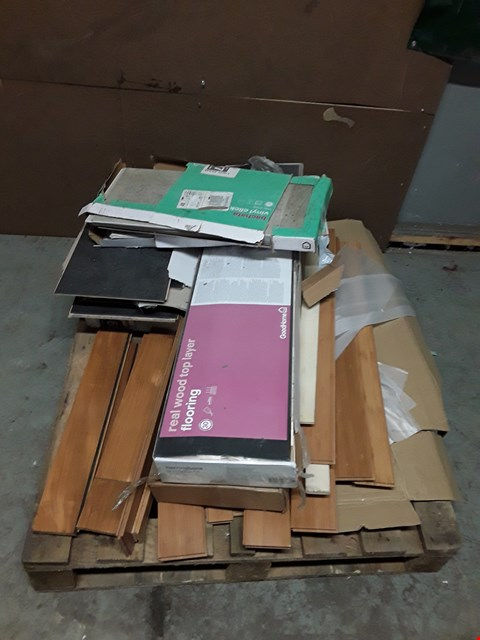 Lot 379 PALLET OF ASSORTED FLOORING ITEMS