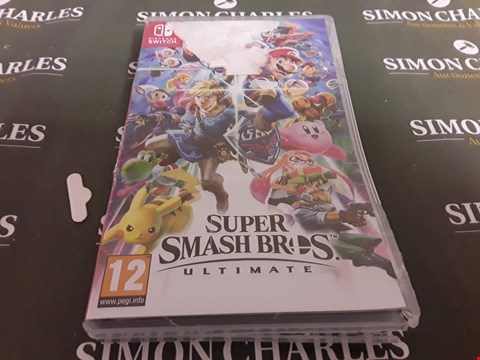 Lot 1199 SUPER SMASH BROS ULTIMATE NINTENDO SWITCH GAME