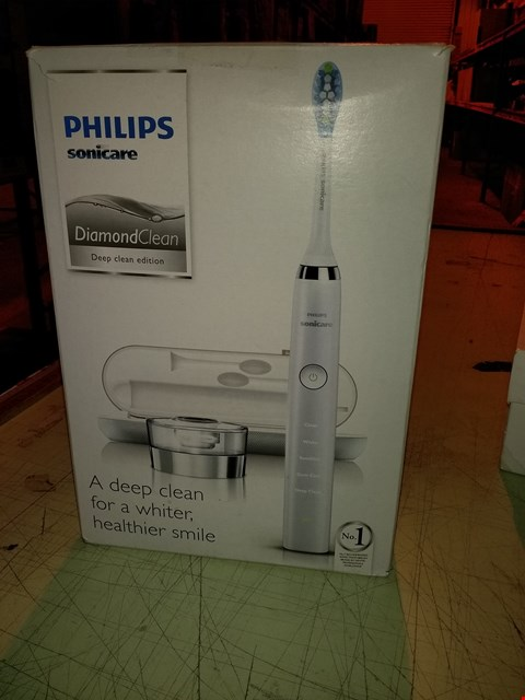 Lot 6611 PHILIPS SONICARE DIAMOND CLEAN DEEP CLEAN EDITION TOOTHBRUSH