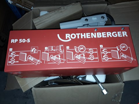 Lot 7946 ROTHENBERGER 6.0200 RP50-S PRESSURE TESTING PUMP