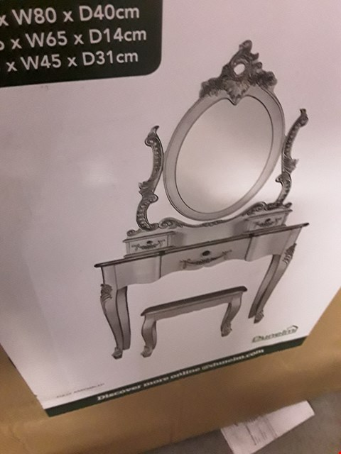 Lot 2011 DESIGNER BOXED TOULOUSE DRESSING TABLE PARTS