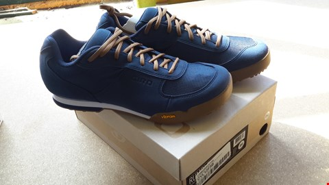 Lot 60 GIRO RUMBLE CYCLING SHOES IN BLUE SIZE UK 9.5