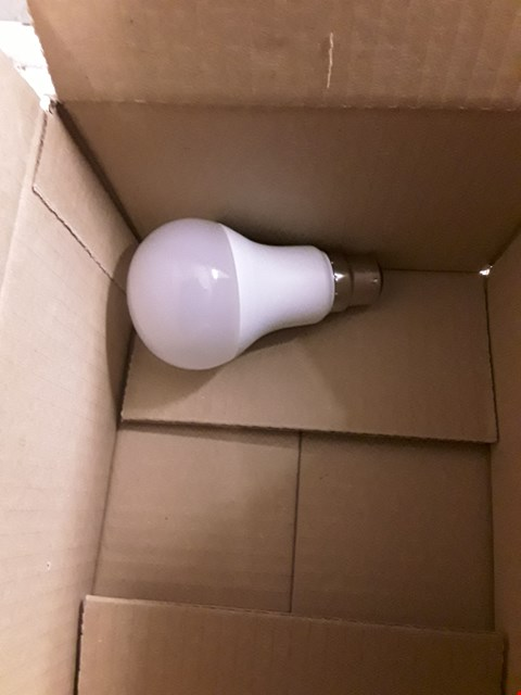 Lot 8383 PHILIPS 2X SINGLE BULB B22 WARM WHITE