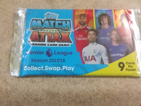 Lot 429 15 BRAND NEW PACKS OF TOPPS MATCH ATTAX TRADING CARD GAME