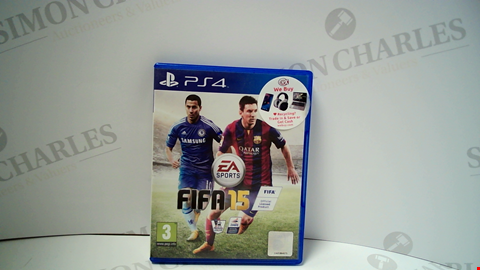 Lot 18014 FIFA 15 PLAYSTATION 4 GAME