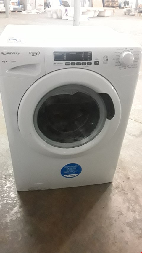Lot 13 CANDY 9KG GRAND VITA GVS149D3 WASHING MACHINE WHITE RRP £299.99