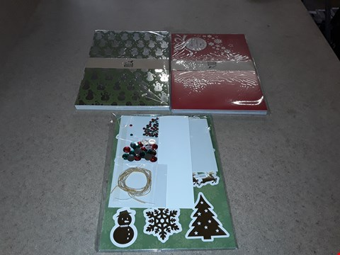 Lot 4002 PALLET OF APPROXIMATELY 216 BRAND NEW CREATE AND CRAFT FRIVOLUS FOILING CARD