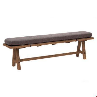 Lot 60 BOXED DESIGNER WILLIS & GAMBIER GILMORE PINE BENCH (1 BOX) RRP £509