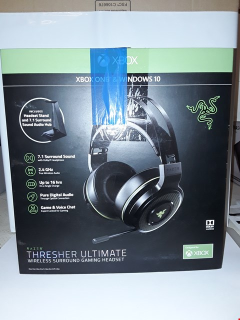 Lot 4025 RAZER THRESHER ULTIMATE WIRELESS HEADSET