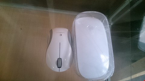 Lot 12 APPLE MOUSE AND LOGITECH MOUSE