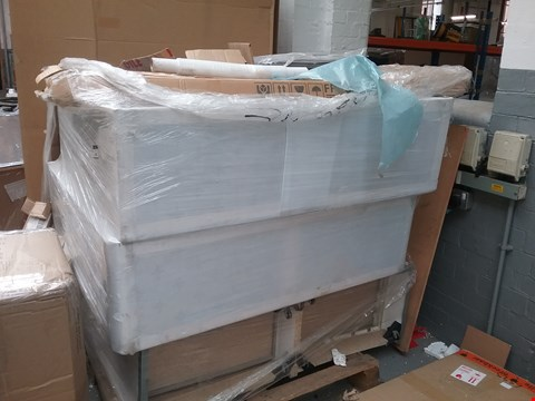 Lot 2053 PALLET OF ASSORTED FLAT PACK FURNITURE PARTS