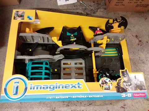 Lot 96 FISHER PRICE X7677 BATCAVE