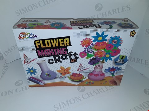Lot 12041 LOT OF 12 AS NEW GRAFIX FLOWER MAKING CRAFT SETS