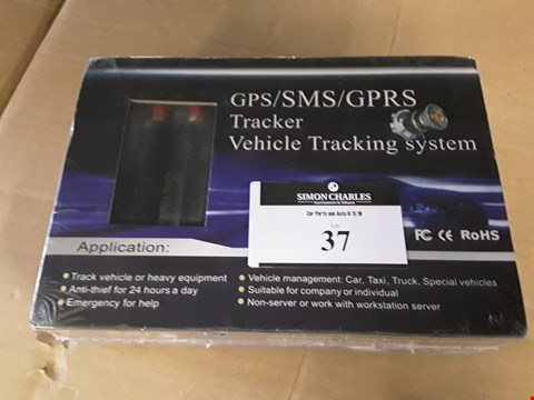 Lot 37 BOXED & SEALED GPS VEHICLE TRACKER SYSTEM GMSGU-1289