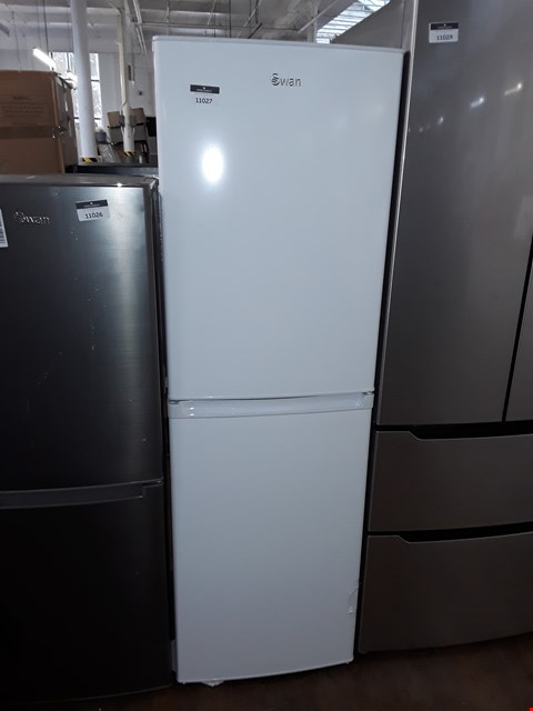 Lot 11027 SWAN SR8160W 172CM HIGH, 55CM WIDE 50/50 SPLIT FRIDGE FREEZER - WHITE