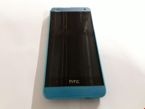 Lot 1058 HTC ONE MINI MOBILE PHONE IN BLUE - PO58200