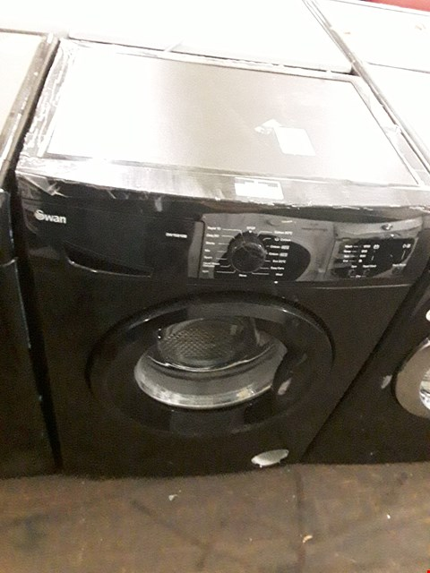 Lot 30 SWAN SW15810B 1200 SPIN BLACK WASHING MACHINE  RRP £279.99