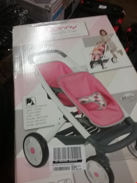 Lot 2078 QUINNY POUSSETTE TWIN PUSHCHAIR  RRP £67