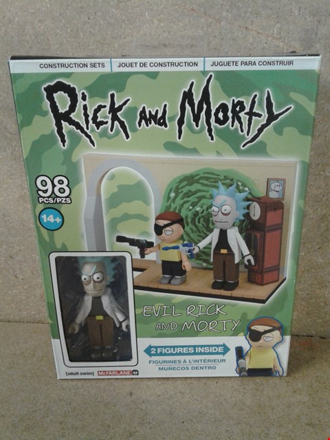 Lot 252 BRAND NEW BOXED RICK AND MORTY DECK-BUILDING GAME