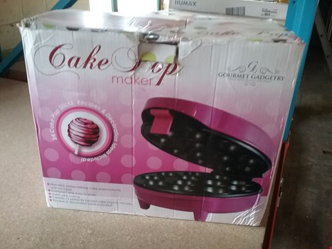 Lot 11079 GOURMET GADGETRY CAKE POP MAKER