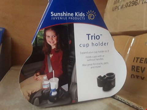 Lot 2011 23 BRAND NEW BOXED SUNSHINE KIDS TRIO CUP HOLDERS RRP £206