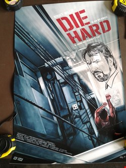 Lot 5 DIE HARD SAM GILBEY GICLÉE PRINT, SIGNED AND NUMBERED AP 1/14 BY ARTIST