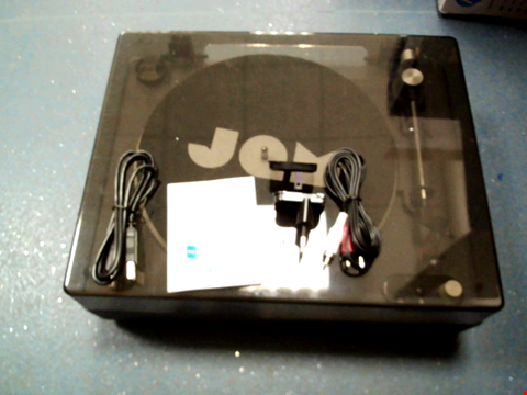 Lot 11328 JAM SPUN OUT BLUETOOTH TURNTABLE, VINYL RECORD PLAYER