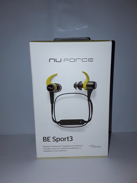 Lot 4049 OPTOMA NU FORCE EARPHONES BE SPORT3