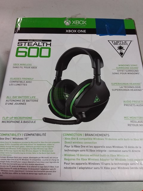 Lot 12195 TURTLE BEACH EARFORCE STEALTH 600 HEADSET
