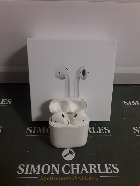 Lot 1747 BOXED APPLE AIRPODS
