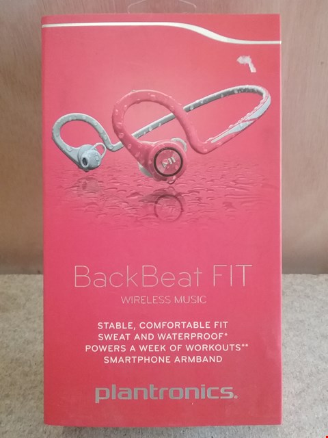 Lot 611 BRAND NEW BOXED BACK BEAT FIT PLANTRONICS