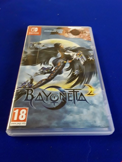 Lot 7608 BAYONETTA NINTENDO SWITCH GAME