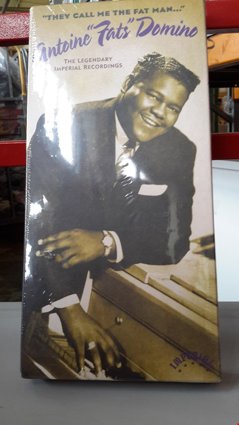 Lot 9008 FATS DOMINO CD BOXSET