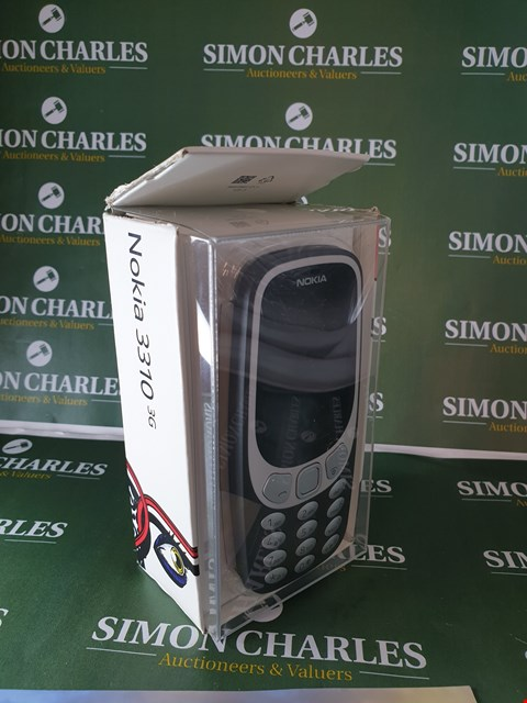 Lot 37 BOXED NOKIA 3310 3G CHARCOAL MOBILE PHONE